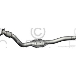 CATALYSEUR VOLVO V70 2.5i 10v