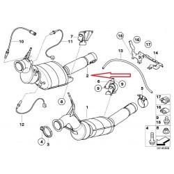 Filtre à particules BMW 745d (E65)