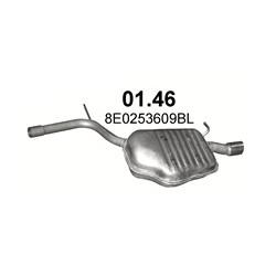 Échappement Audi A4 B6 (2000 - 2004) 1.8